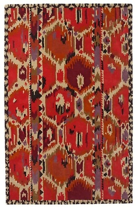 ikat rug anthropologie